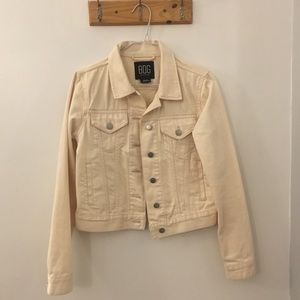 White Urban Outfitters Denim Jacket